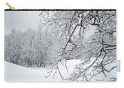 Snowy Branches Carry-all Pouch