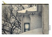 Snowy Brick House Carry-all Pouch
