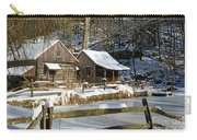 Snowy Cabins Carry-all Pouch