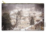 Snowy Cemetery Carry-all Pouch