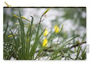 Snowy Daffodils Carry-all Pouch