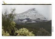 Snowy Desert Mountain 1 Carry-all Pouch