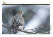 Snowy Dove Carry-all Pouch