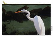 Great Egret Monterey Bay California  By Pat Hathaway Carry-all Pouch