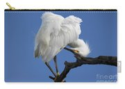 Snowy Egret Photograph Carry-all Pouch
