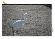 Snowy Egret Walk Carry-all Pouch