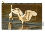 Snowy Egret Wingspan Carry-all Pouch