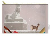 Snowy Evening In The City Carry-all Pouch