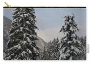 Snowy Fir Trees  Carry-all Pouch