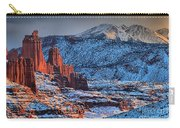 Snowy Fisher Towers Carry-all Pouch