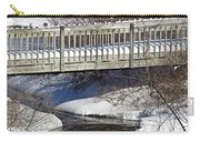 Snowy Foot Bridge Carry-all Pouch