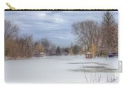 Snowy Lake Carry-all Pouch
