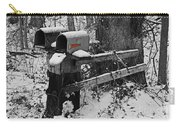 Snowy Mailbox Sc Carry-all Pouch