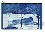 Snowy Moment Carry-all Pouch