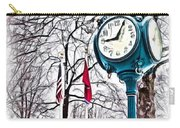 Snowy Morning - Oil Carry-all Pouch