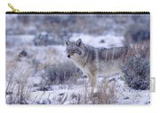 Snowy Morning Watch Carry-all Pouch