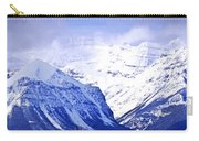 Snowy Mountains Carry-all Pouch by Elena Elisseeva
