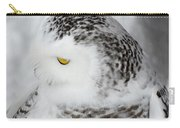 Snowy Owl 2 Carry-all Pouch
