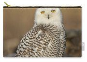 Snowy Owl Female Carry-all Pouch