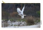 Snowy Owl In Florida 10 Carry-all Pouch