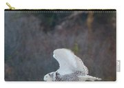 Snowy Owl In Florida 11 Carry-all Pouch