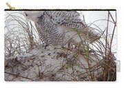 Snowy Owl In Florida 13 Carry-all Pouch