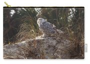 Snowy Owl In Florida 15 Carry-all Pouch