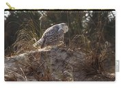 Snowy Owl In Florida 16 Carry-all Pouch