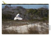 Snowy Owl In Florida 18 Carry-all Pouch
