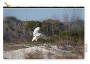Snowy Owl In Florida 19 Carry-all Pouch