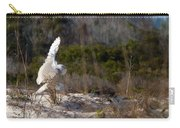 Snowy Owl In Florida 20 Carry-all Pouch