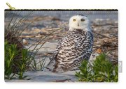 Snowy Owl In Florida 24 Carry-all Pouch