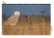 Snowy Owl Morning Carry-all Pouch