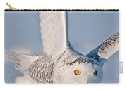 Snowy Owl Pictures 47 Carry-all Pouch