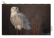Snowy Owl Pictures 64 Carry-all Pouch