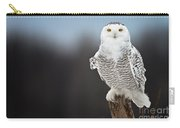 Snowy Owl Pictures 69 Carry-all Pouch
