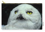 Snowy Owl Portrait Carry-all Pouch