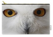 Snowy Owl Stare Carry-all Pouch