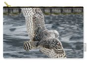 Snowy Owl Wingspan Carry-all Pouch