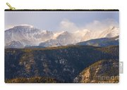 Snowy Pikes Peak Carry-all Pouch