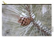 Snowy Pine Carry-all Pouch