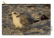 Snowy Plover Transforms Into A Spiderbird 8 Carry-all Pouch