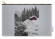Wyoming Snowy Retreat Carry-all Pouch
