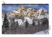 Snowy Ridge Above Bell Canyon - Wasatch Mountains - Utah Carry-all Pouch