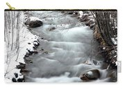 Snowy River At Mt. Hood Carry-all Pouch