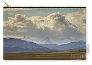 Snowy Rocky Mountains County View Carry-all Pouch
