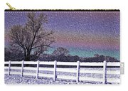 Snowy Snowy Night  Carry-all Pouch