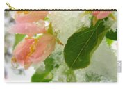 Snowy Spring 1 - Digital Painting Effect Carry-all Pouch