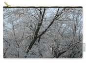 Snowcovered Trees Carry-all Pouch