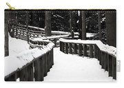 Snowy Walkway Carry-all Pouch